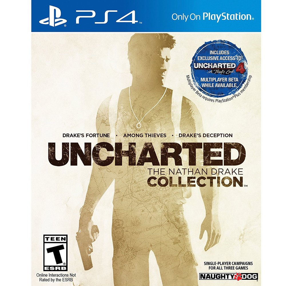 Uncharted: The Nathan Drake Collection (PS4, рус.титры) от  MegaStore.kg