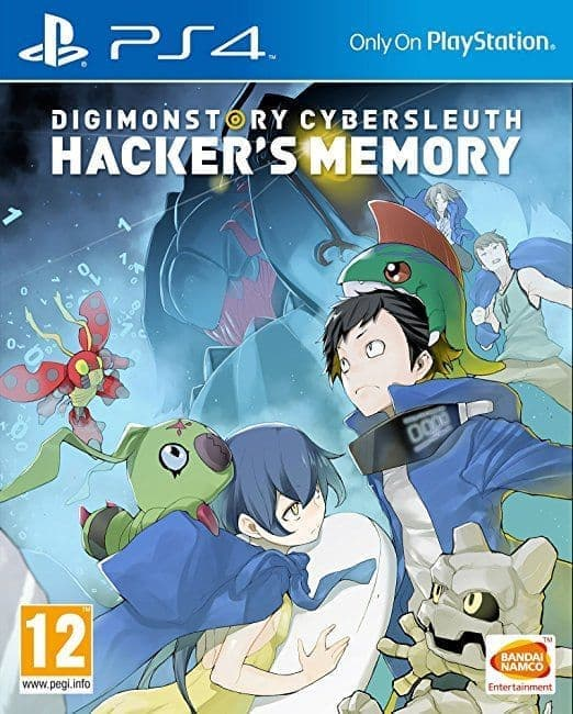 Digimon Story: Cyber Sleuth - Hacker's Memory (PS4, англ.версия) БУ от  MegaStore.kg