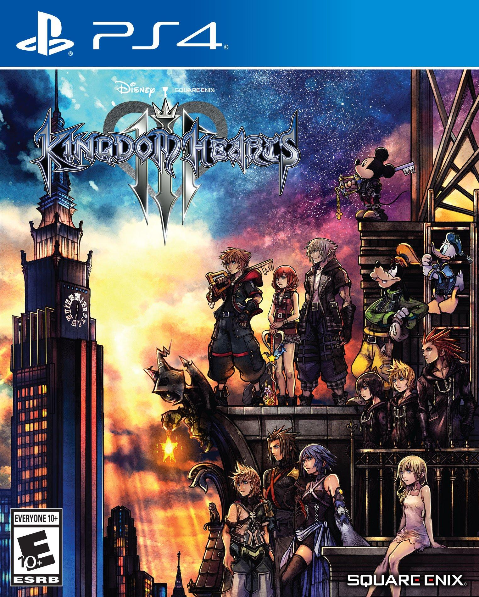 Kingdom Hearts 3 (PS4, англ.версия) от  MegaStore.kg