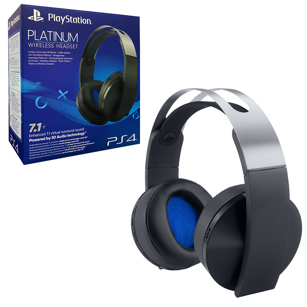Sony Playstation Platinum Wireless Headset PS4 от  MegaStore.kg