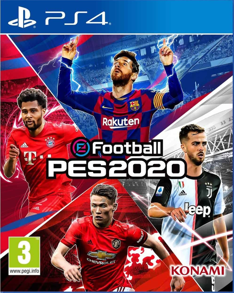 Pro Evolution Soccer 2020 (PES 20) (PS4, рус.титры) от  MegaStore.kg
