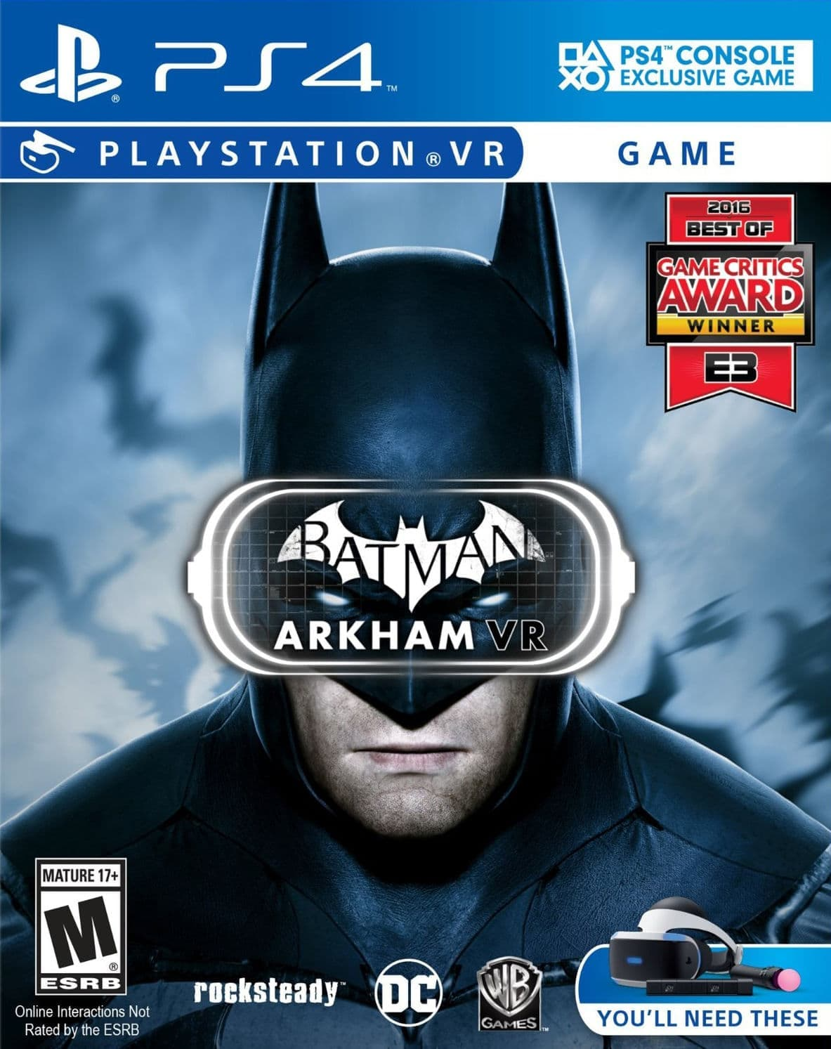 Batman: Arkham VR (PS4, только для PS VR) БУ от  MegaStore.kg
