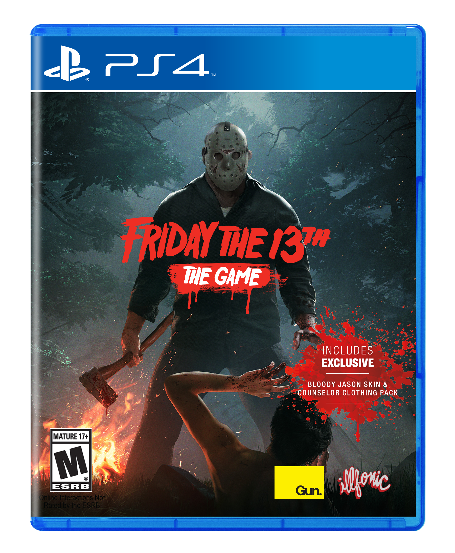 Friday the 13th: The Game (PS4, англ.версия) БУ от  MegaStore.kg