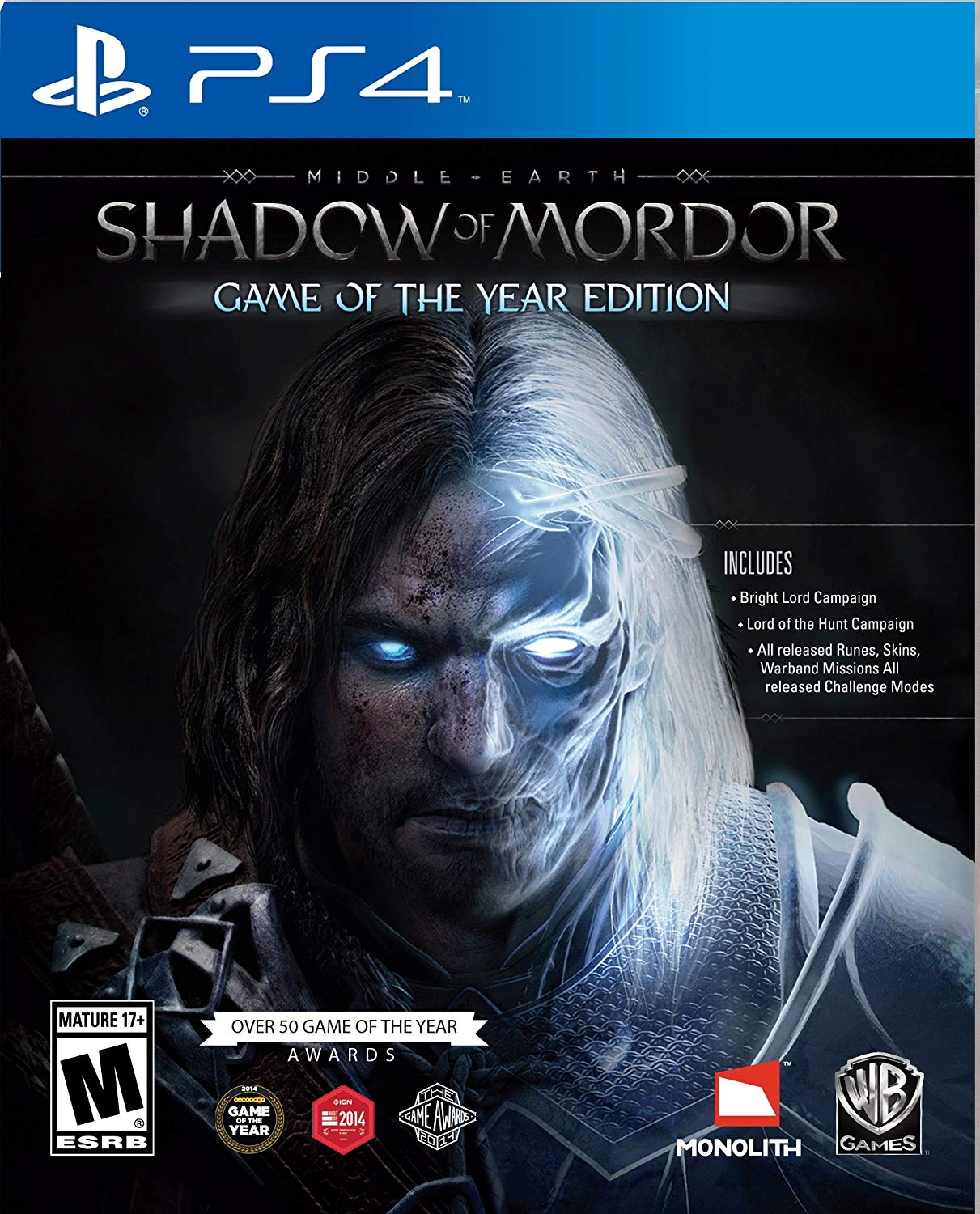 Middle-earth: Shadow of Mordor - Game of the Year Edition (PS4,русская версия)  от  MegaStore.kg