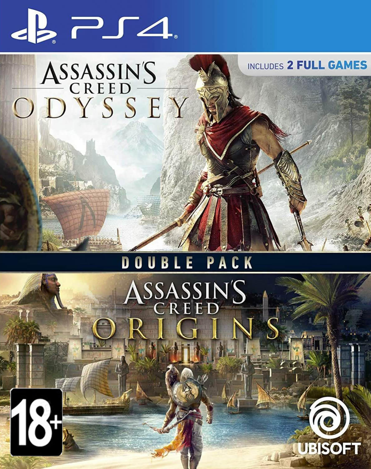 Assassin's Creed Origins + Odyssey (PS4, русская версия) от  MegaStore.kg