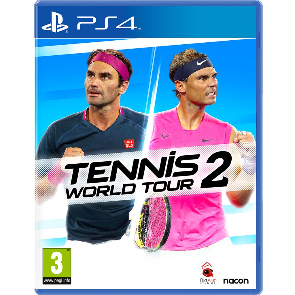 Tennis World Tour 2 (PS4) (PS4, англ.версия) от  MegaStore.kg